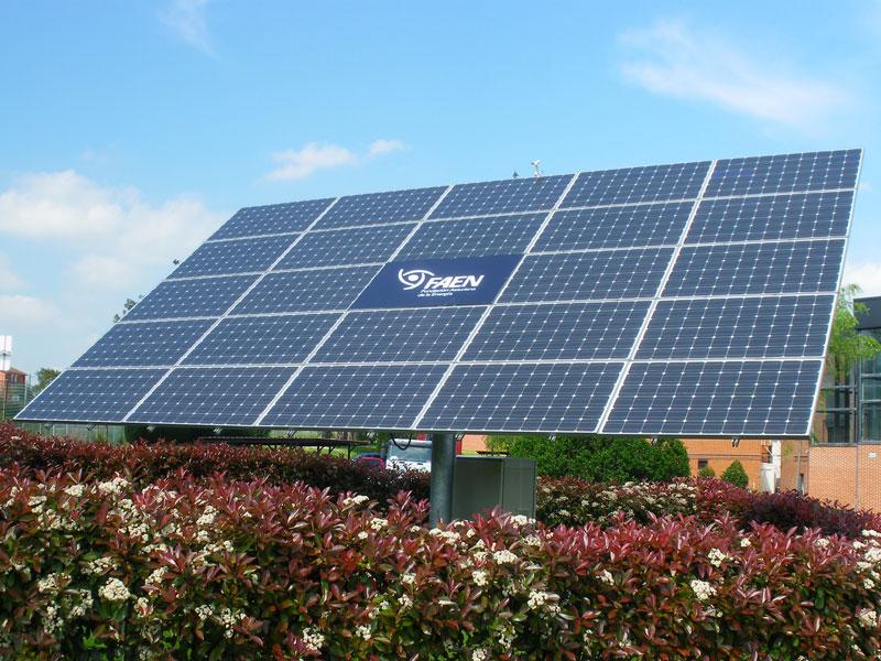 Instalación solar FAEN en PT Asturias