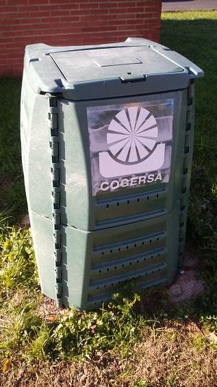 Contenedor de compostaje