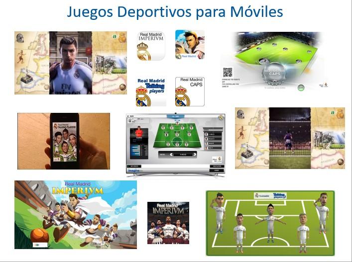Juegos deportivos para móviles