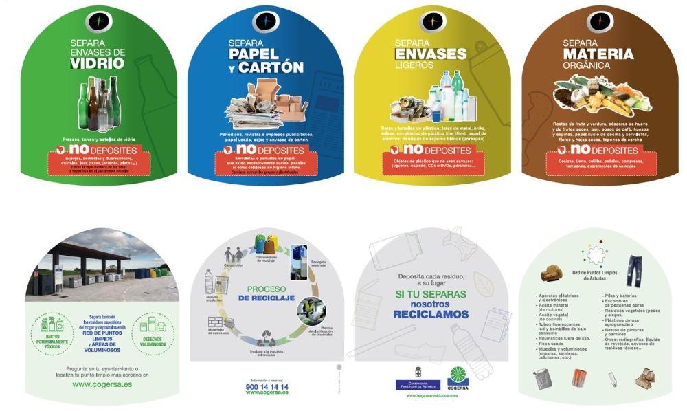 cómo separar y reciclar parque residuo cero