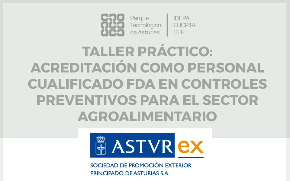 Taller acreditación FDA