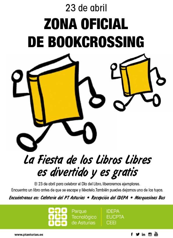 cartel BookCrossing PTAsturias