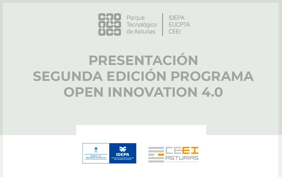 Presentación segunda edición Open Innova 4.0