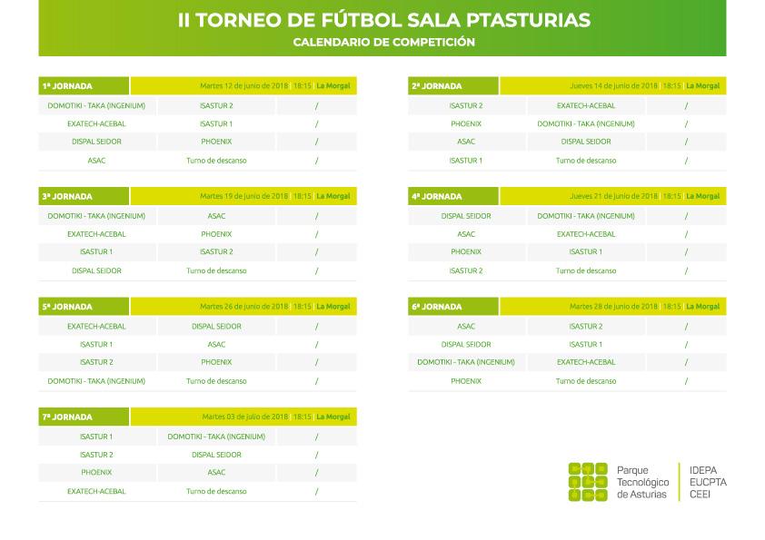 calendario futsal ptasturias