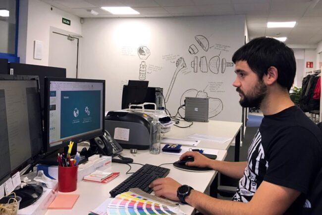 Oficinas de Exatech Ibérica en el Parque Tecnológico de Asturias