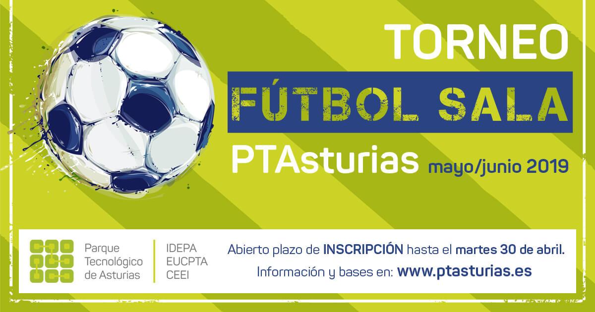 Torneo de fútbol sala del Parque Tecnológico de Asturias 2019