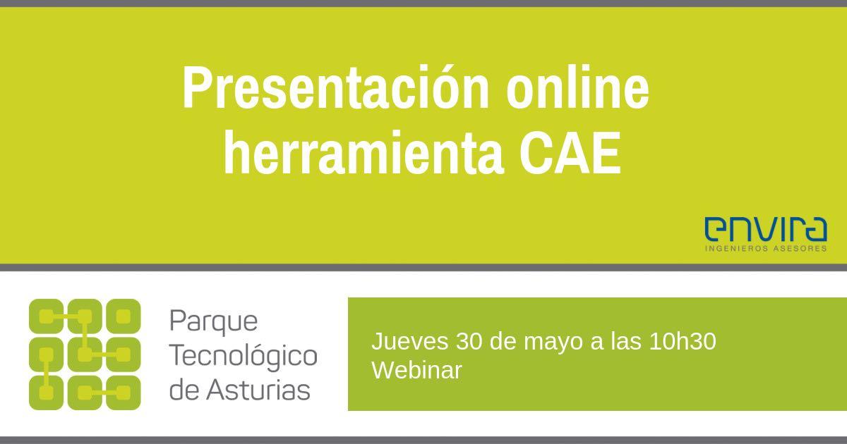 Presentación online herramienta CAE