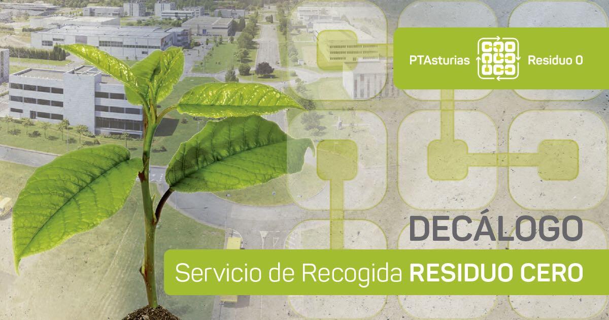 Decálogo del Servicio de Recogida Residuo Cero