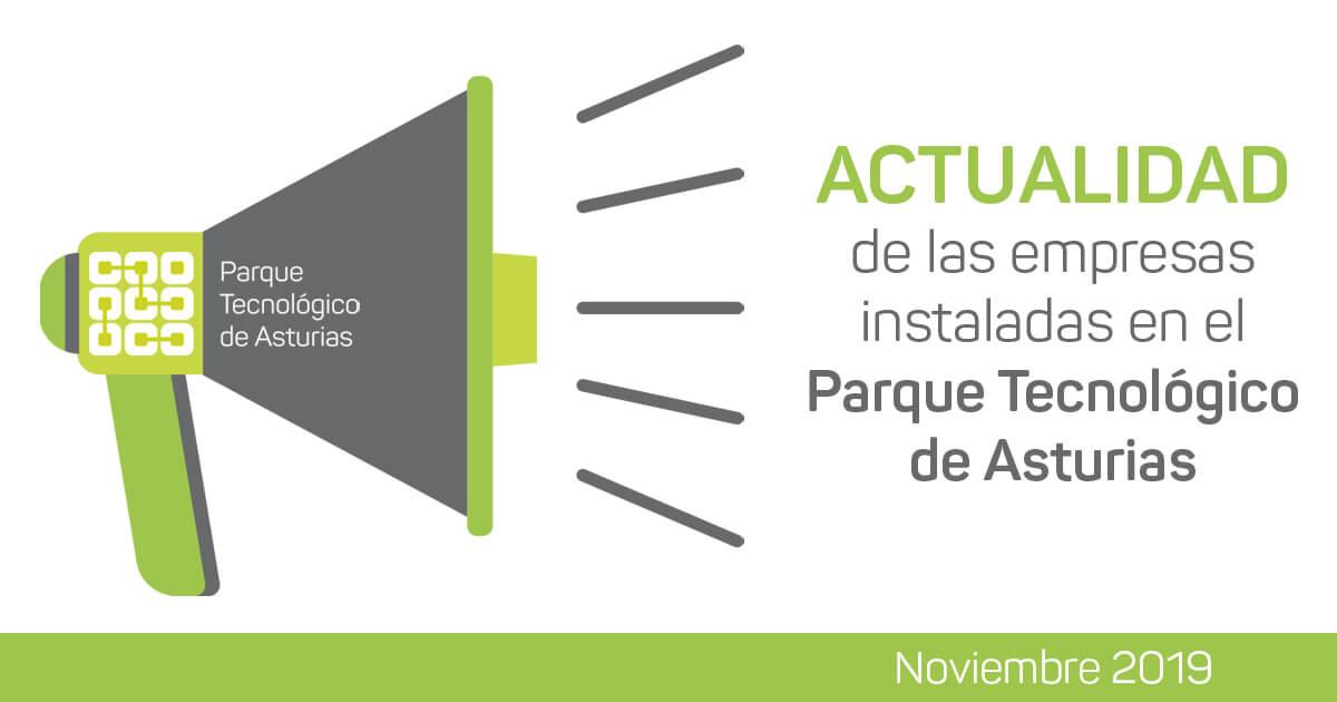 Actualidad empresas instaladas en el PT Asturias, noviembre 2019