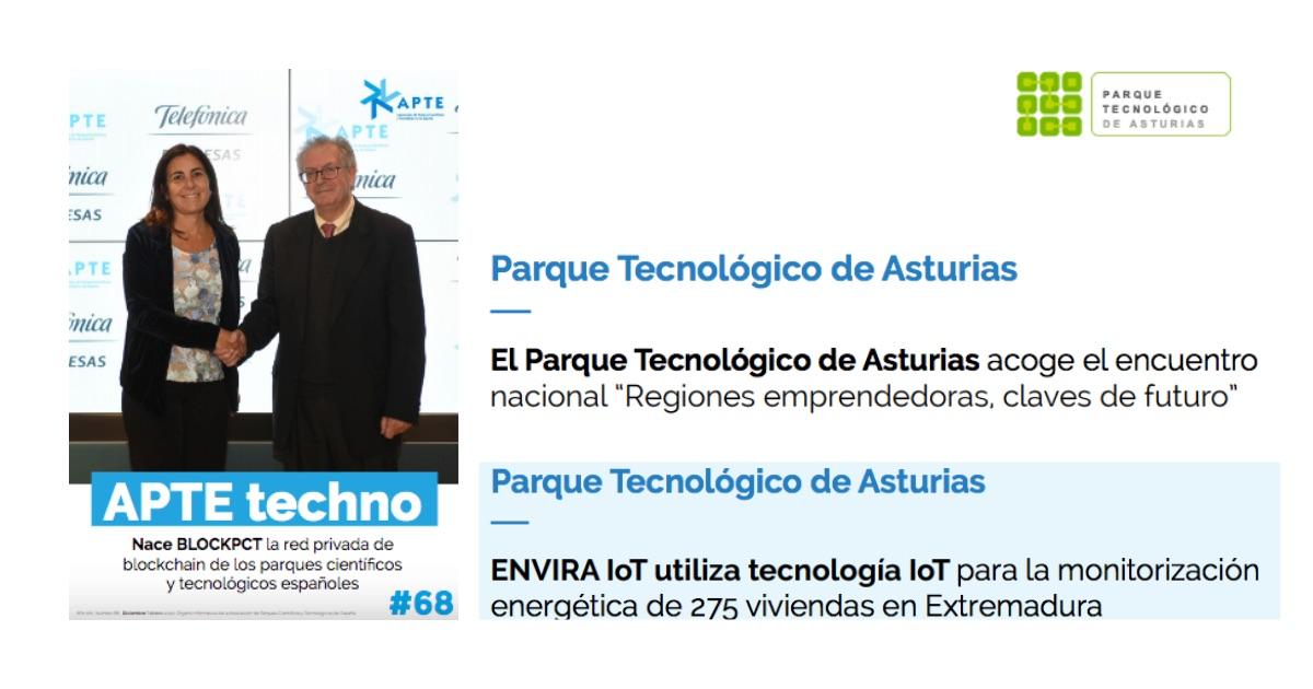El PT Asturias en la revista APTE Techno nº 68