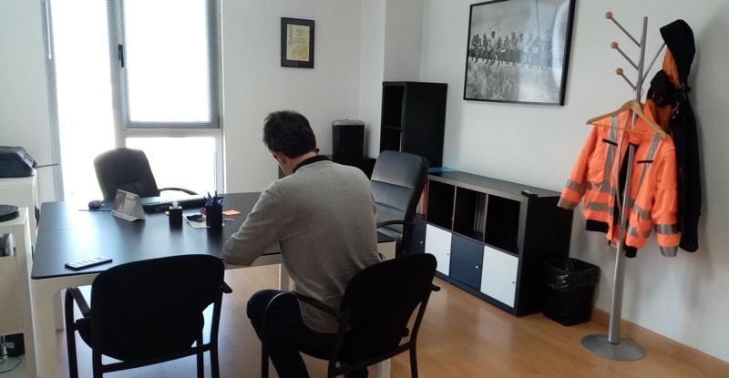 Oficinas de Audinor en el edificio Centroelena de PT Asturias