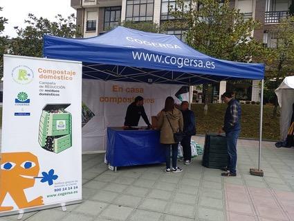 Campaña de compostaje doméstico. Cliente COGERSA